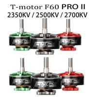 4pcs T motor F60 PRO II 2350KV 2500KV 2700KV FPV Brushless Electrical Motor 3 4S for RC FPV Racing Drone Quadcopter