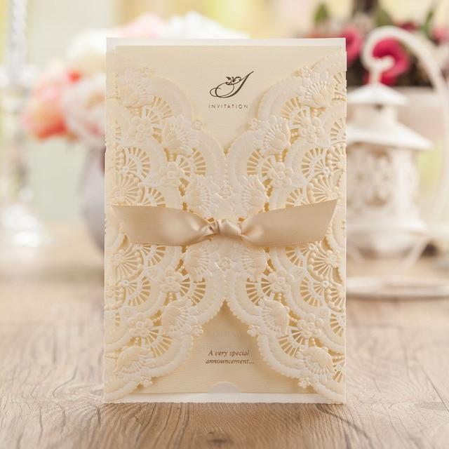 Elegant Wedding Invitation Designs Yaseen for – Elegant Lace Wedding Invitations