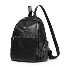 2017 натуральная кожа женские рюкзаки Mochila Feminina рюкзаки для девочек-подростков школьные сумки Дамская винтажная женская обувь с бахромой C242