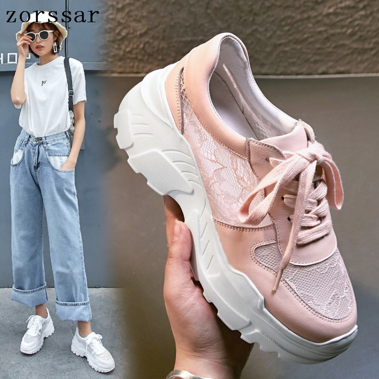 2019 New Fashion Whiter Platform Sneakers summer Ladies Causal Shoes Woman Leather Platform Shoes Women Sneakers Chaussure Femme2019 New Fashion Whiter Platform Sneakers summer Ladies Causal Shoes Woman Leather Platform Shoes Women Sneakers Chaussure Femme