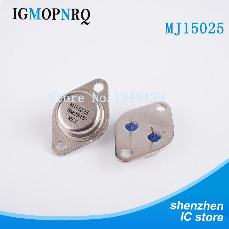 16A 250V 250W PNP 1pcs-MOTOROLA MJ15025 Transistor TO-3 TO3