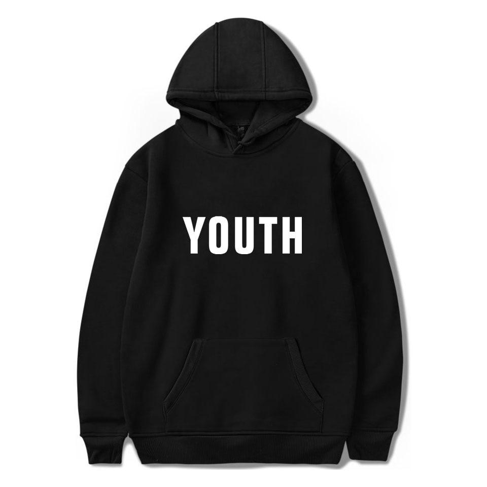 2019 Printemps nouvelle mode Shawn Mendes Capless Hoodies hip hop haut pour femme Kawaii Sweat-Shirts Harajuku grande taille Hodies Femmes XP