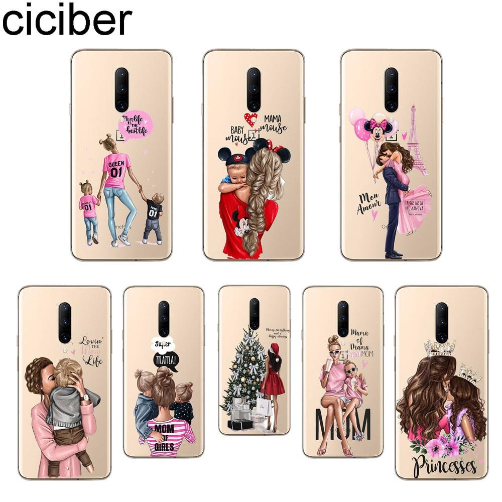 ciciber Super mom Queen Phone Cases For font b Oneplus b font font b 7 b