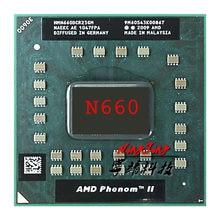 AMD Phenom II processeur d'unité centrale double-coeur Mobile N660 3.0 GHz double-coeur double-fil HMN660DCR23GM Socket S1