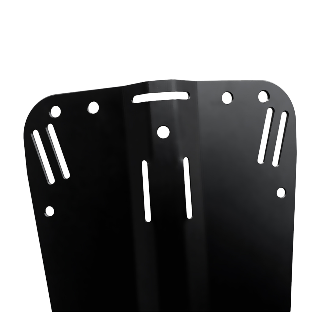 Universal Heavy Duty Aluminum Back Plate for Technical Scuba Diving Harness System Equipment Equipment