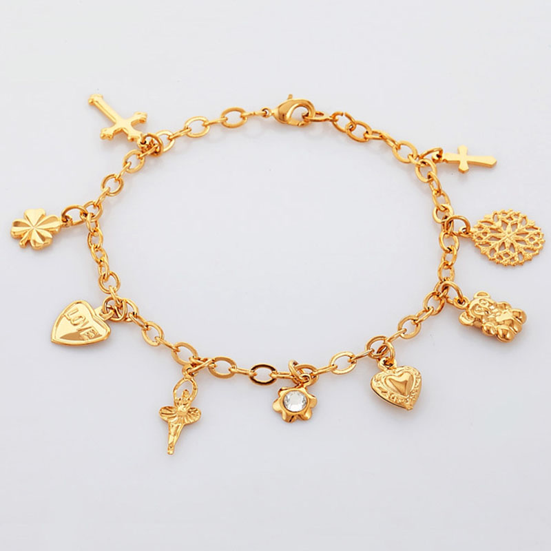 aliexpress buy kpop gold silver color charms