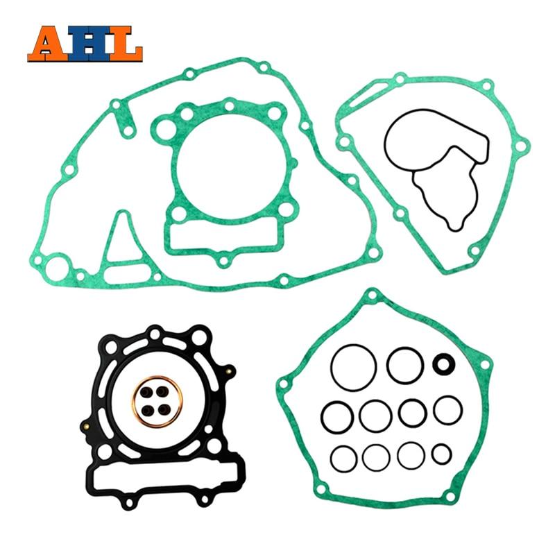 AHL Motorcycle Gasket & Valve Oil Seal Sets Kits For KAWASAKI KXF250 KX250F 2004-2008 original scv valve overhaul kits 294009 0741 1460a056