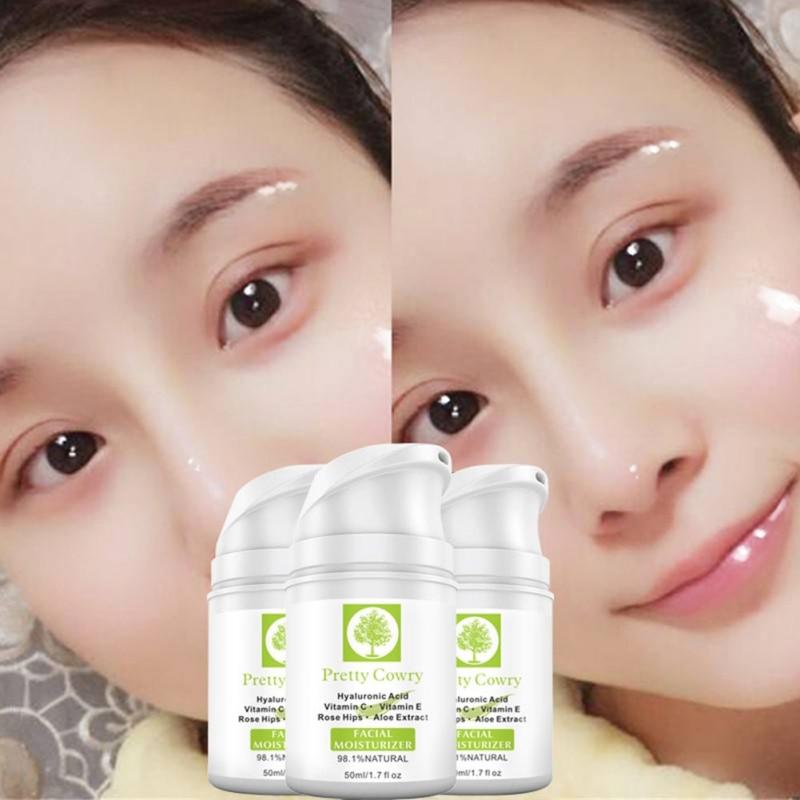 Aloe Vera Essence Hyaluronic Acid Facial Cream Moisturizing Nourish Skin Whitening And Blemish Skin Care Face Care Product