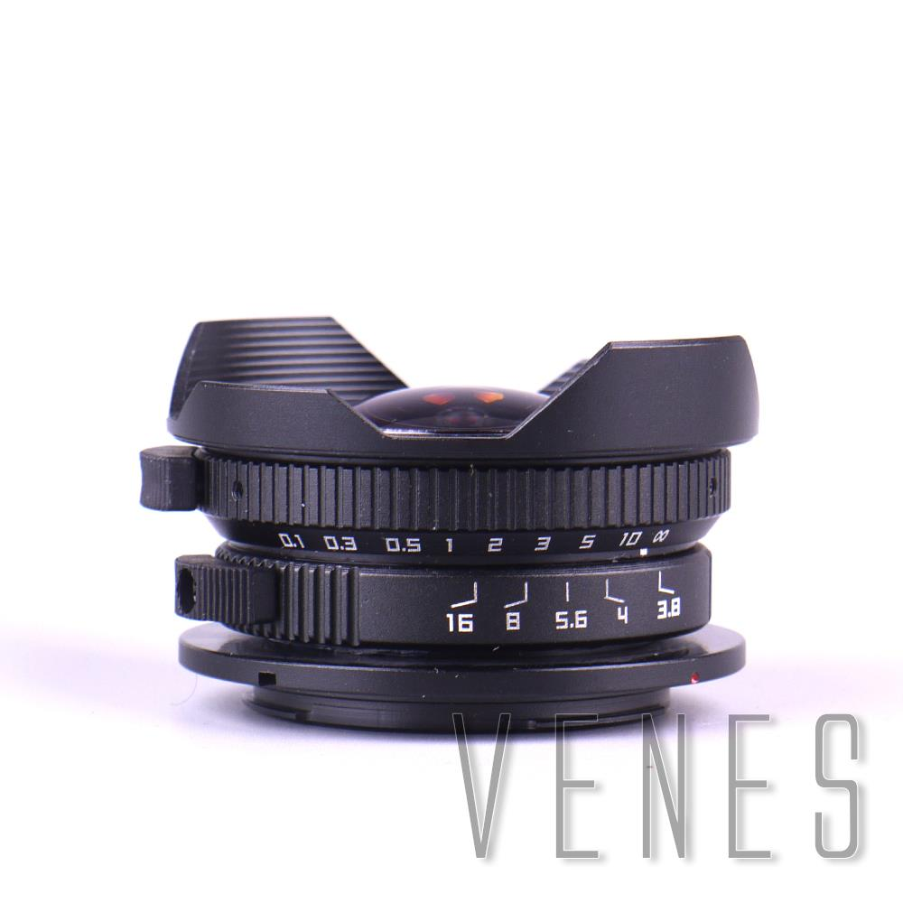 8mm F3.8 Fish-eye CCTV Lens Suit For Micro Four Thirds Mount Camera