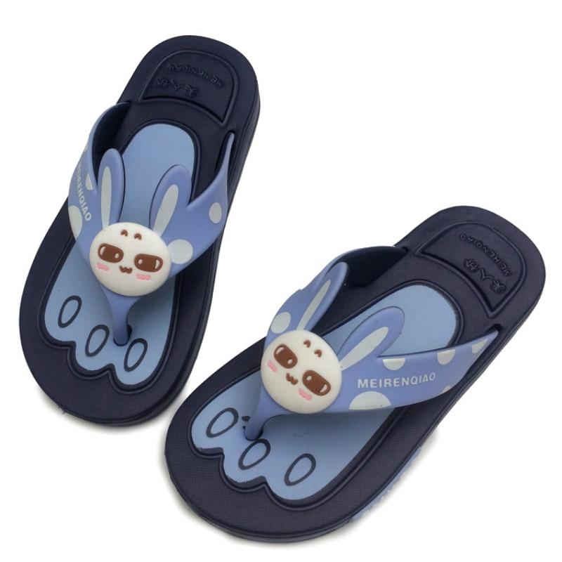 Good Quality Children Summer Casual Shoes Cartoon Beach Kids Girls Flip Flops Fashion Boys Flats Sandals 26-35 Retail Wholesale