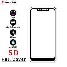 For Xiaomi Redmi Note 6 Pro 5 Pro Plus 6A S2 Y1 Y2 lite Black Shark Note5A 5D 2.5D 9H Full Cover Tempered Glass Screen Protector цены онлайн