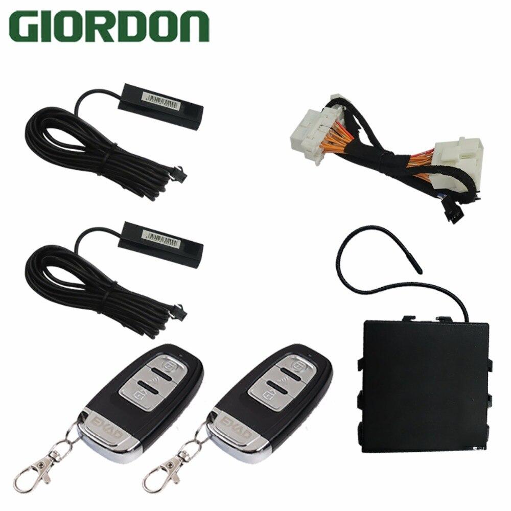 Système d'entrée sans clé accès confort PKE télécommande d'alarme de voiture pour seulement adapté aux voitures japonaises Honda Toyota CAN2000