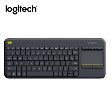 Logitech K400 Plus Wireless Keyboard with Touchpad Keyboard for TV Connected Computer