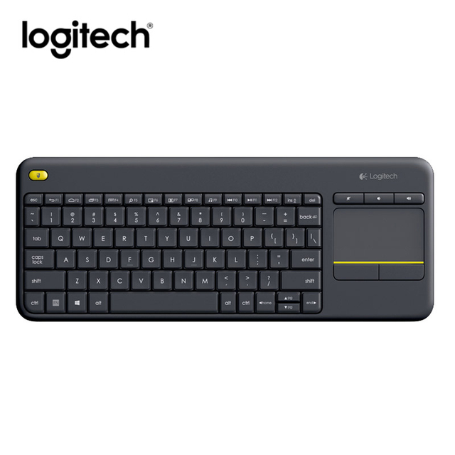 d74bec4627f Original Logitech K400 Plus Wireless Keyboard Gaming keyboard with Touchpad  Keybord klavye teclado for TV Connected Computer