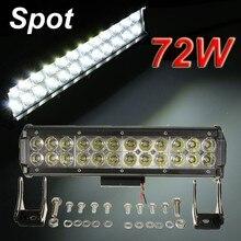 2 W LED Feux de Travail Bar Spot Light Offroad ATV Camion Bateau Lampe 4WD 12 V 24 V 24 Led pilote 6000 K 6500 K