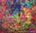 Misto colorido tear para DIY ( 600 pcs bandas + 20S-clips por pacote ) frete grátis