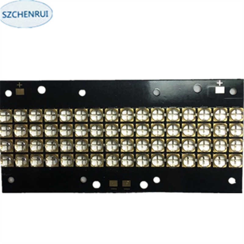 The New 480 watts high-power LED UV violet 6565 365nm 370nm 380nm 385nm 395nm 400nm 405nm 56*118mm board the new 300 watts high power led uv violet 6565 365nm 370nm 380nm 385nm 395nm 400nm 405nm 56 75mm board