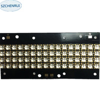 The New 480 watts high power LED UV violet 6565 365nm 370nm 380nm 385nm 395nm 400nm 405nm 56*118mm board
