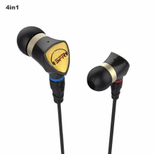 PZ 2018 SENFER 4in1 earphone and heandphone BA+Dynamic Hybrid In Ear Earphone With MMCX Interface HIFI Earbuds Headset ie800
