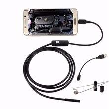 Safurance DANIU Endoscope Camera Inspection Waterproof Camera 5.5mm Digital 5m USB Endoscope Borescope OTG For Android Phone