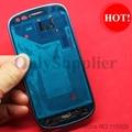100% Новый & Оригинальная Передняя Ближний Рамка Рамка Случая крышки Снабжения Жилищем Замена Для Samsung Galaxy S3 мини i8190