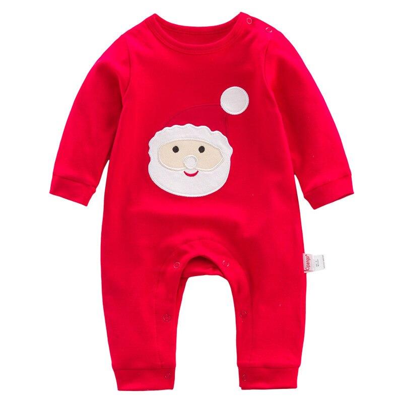 84a4690d305e 2017 Christmas Deer Style Winter Newborn Baby Boys Girls Clothes ...