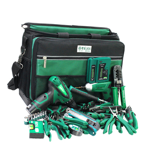 Image 5 - LAOA Multi function Tool Kit Maintenance Bag After sales Shoulder bag large thick canvas Oxford cloth electrical bags