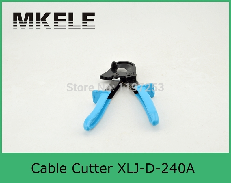 High Quality MK-XLJ-D-240A Hydraulic Cable Cutter,ratcheting Cutter park Tool Clamp China high quality mk ch 60 steel plate manual hydraulic hole puncher electric pump operated punching machine clamp china
