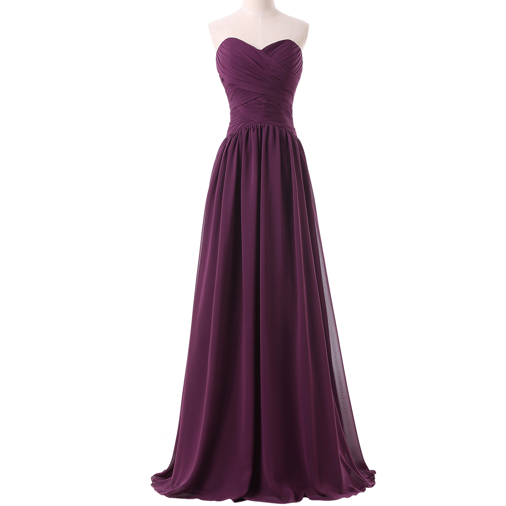 Grace karin purple grape bridesmaids dresses sweetheart long aeproducttsubject ombrellifo Gallery