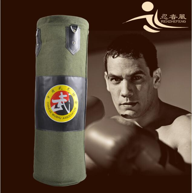 High quality!80cm Sports Training Fitness Boxing Sand Bag Hook Hanging Kick Punching Bag Boxing Sandbag Fight Bag Free Shipping professional boxing training human simulated head pad gym kicking mitt taekwondo fighting training equipment mma punching target