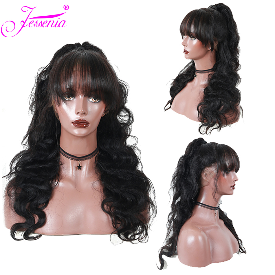 Body Wave 13x4 Lace Front Human Hair Wigs Ple Plucked For Black Women 150 Density Remy Brazilian Lace Front Wigs in Lace Front Wigs from Hair Extensions Wigs