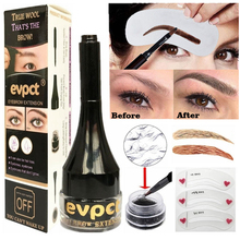 Natural Makeup Eyebrow Gel Increase Extension Fiber Hair Waterproof Cream Instant False 4D Eye Brow Pencil Tattoo