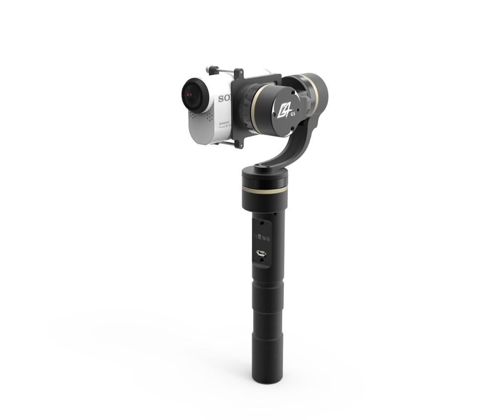 FeiYu Tech FY G4 GS 3 axle Handheld Brushless Gimbal Steady for AS Series Camera HDR AS20 AS100 AS200 X1000V F16304 free shipping feiyu tech g4 gs gimbal 3 axis brushless gimbal for sony hdr az1vr fdr x1000v as series sport auction camera
