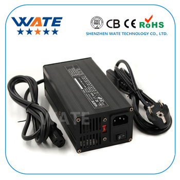 29.2V 9A Charger Aluminum Case 8S 24V LiFePO4 Battery Charger With Fan Aluminum Case Robot electric wheelchair battery Charger
