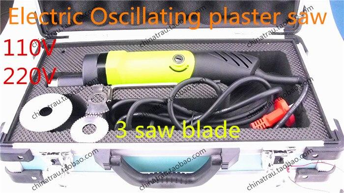 Le plâtre électrique d'instrument orthopédique médical de 110 V 220 V a vu le coupeur oscillant le coupeur électrique de Bandage de dissolvant de scie de gypse