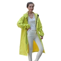 High Quality Rainwear 3 Solid Colors Woman Men Durable SimpleFashion Environmental Breathable Raincoat For Outdoor Activity