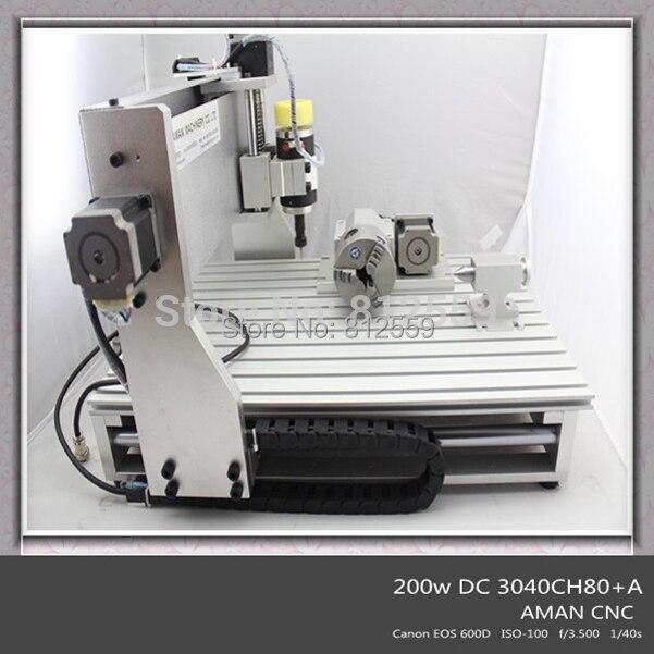 China Hot Sale Mini 3d DSP Controller Cnc Router Wood Cutting Machine