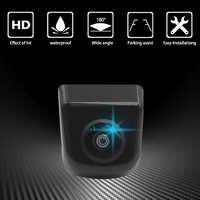 Nuevo 2 colores asistencia de estacionamiento resistente al agua coche vista trasera cámara frontal coche reverso cámara HD accesorio de coche