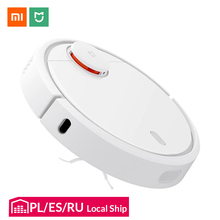 Original Xiaomi Mi Robot Vacuum Cleaner for Home Automatic Sweeping Dust Sterilize Smart Planned Mijia App Remote Control
