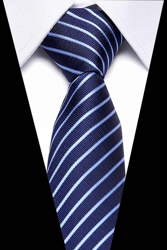 7.5cm gravata homem moda roupas acessórios da camisa venda quente gravata de casamento gravata para homem livre presente negócios
