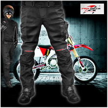 Pro-biker motorcycle clothing automobile race pants motorcycle ride clothes automobile race trousers belt pad kneepad