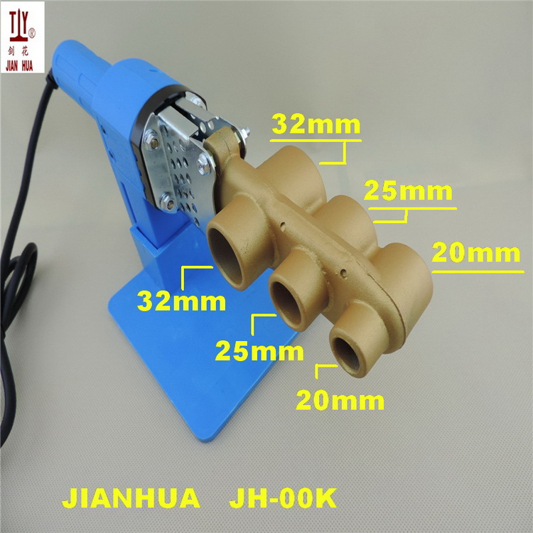 Image 2 - Free shippng New 20 32mm 220V thermofusionadora ppr electronica Pipe Welding Machine Soldering Iron For Plastic Pipes-in Plastic Welders from Tools