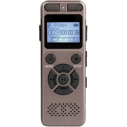 8Gb Voice Recorder Usb Business Portable Digital Audio Recorder With Mp3 Player Support Multi-Language Tf Card To 32Gb