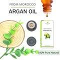 3bottles 100% Pure Moroccan Argan Oi Hair Repair Macadamia Nut Oil Hair Scalp Treatment for Dry and Damaged Hair Care Serum 10ml