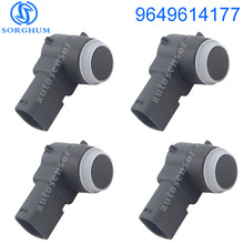 4pcs New PDC Parking Sensor 9649614177 For Citroen Peugeot C4 C5 C6 308 407