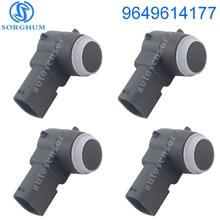 4pcs New PDC Parking Sensor 9649614177 For Citroen Peugeot C4 C5 C6 308 407