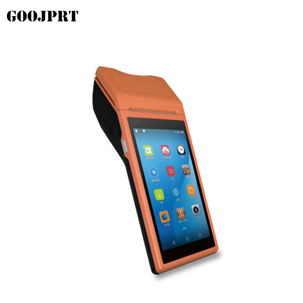 3G/4G PDA POS Handheld NFC Terminal Built in Thermal Bluetooth Printer 58mm Wifi Android PDA Barcode Camera Scanner 1D3G/4G PDA POS Handheld NFC Terminal Built in Thermal Bluetooth Printer 58mm Wifi Android PDA Barcode Camera Scanner 1D