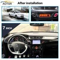 IPS Screen Android 9.0 Car DVD Radio Player head unit For Citroen C3 DS3 2010 2016 Car Radio multimedia GPS navigation 4+32G BT