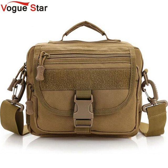 Vogue star militar hombres messenger bag bolso pequeño crossbody equipo al21