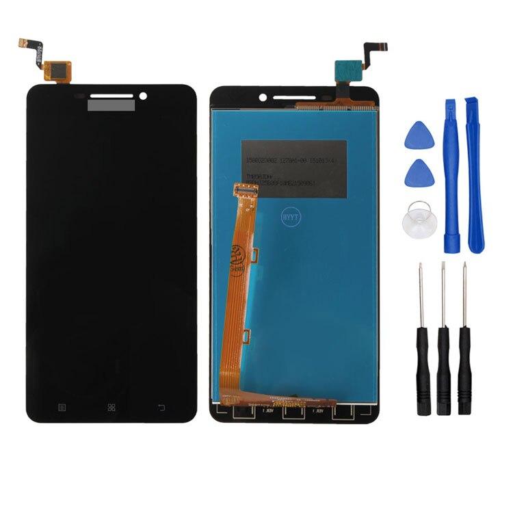 Para lenovo a5000 original lcd y montaje de la pantalla táctil de reparación de